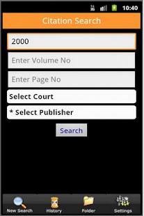 Manupatra for Android- screenshot thumbnail