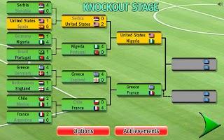 Screenshot of Gravity Football World Cup