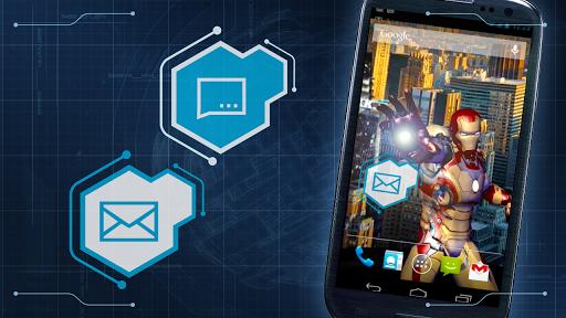 【免費個人化App】鋼鐵俠3動態壁紙-APP點子