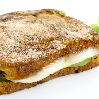 A Decadent and Skinny, Apple Cheese Stuffed French Toast