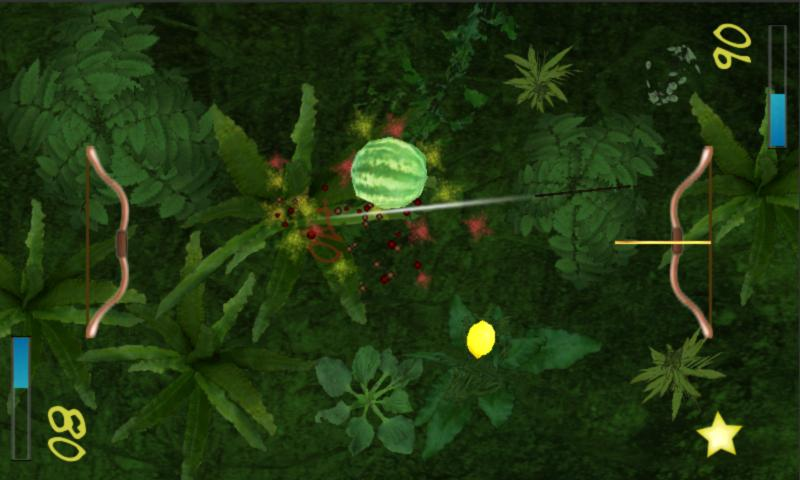 Two Player Fruit Shoot- screenshot