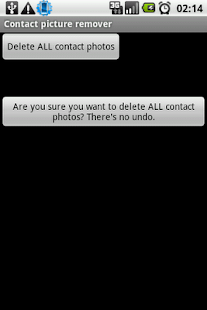 Contact picture remover - screenshot thumbnail