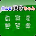 並んで漢字ちゃん logo
