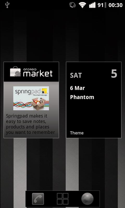 Phantom Theme- screenshot