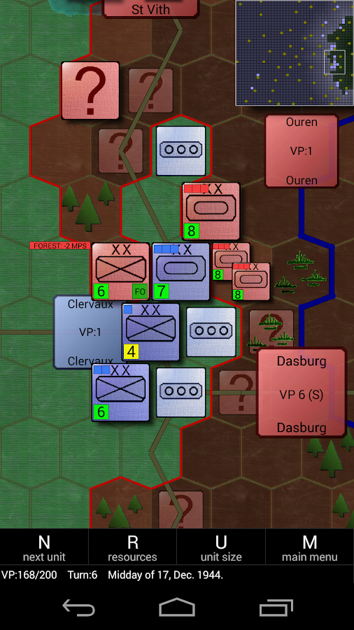 Battle of Bulge 1944-1945 - screenshot
