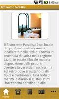 Screenshot of Ristorante Paradiso