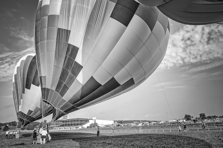 Ready for Launch by Ron Meyers - Black & White Objects & Still Life