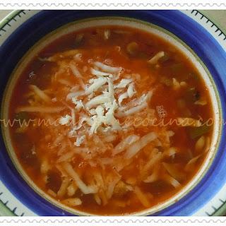 Pizza-flavored Tomato Soup.