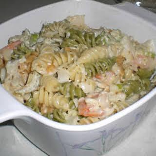 Seafood Salad Supreme.