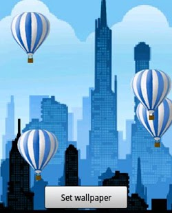 Hot air balloon Live Wallpaper - screenshot thumbnail