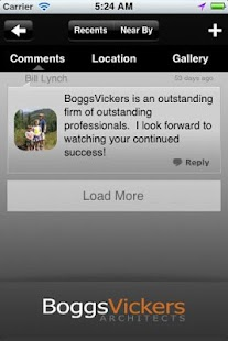 BoggsVickers Architects- screenshot thumbnail