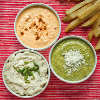 French Fry Dipping Sauces, Three Ways.