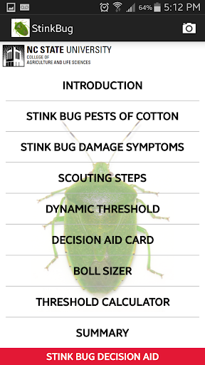 Stink Bug Decision Aid