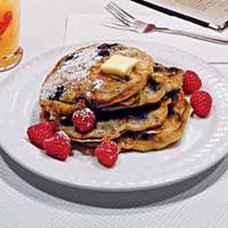 Crunch-Berry Pancakes.