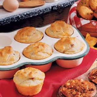 Ham and Cheese Muffins.