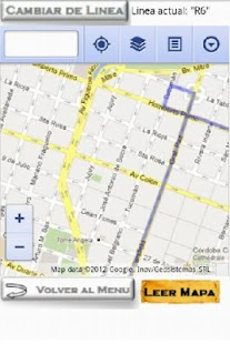 Colectivos Cordoba - screenshot thumbnail
