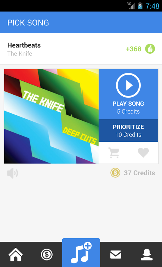Rockbot - Social Jukebox App- screenshot