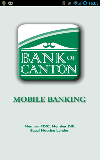 Bank of Canton Mobile Banking