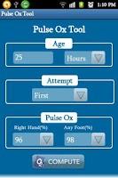 Screenshot of PulseOxTool