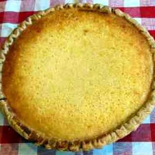 Buttermilk Pie.