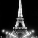 Eiffel Tower lighted Live Wall icon