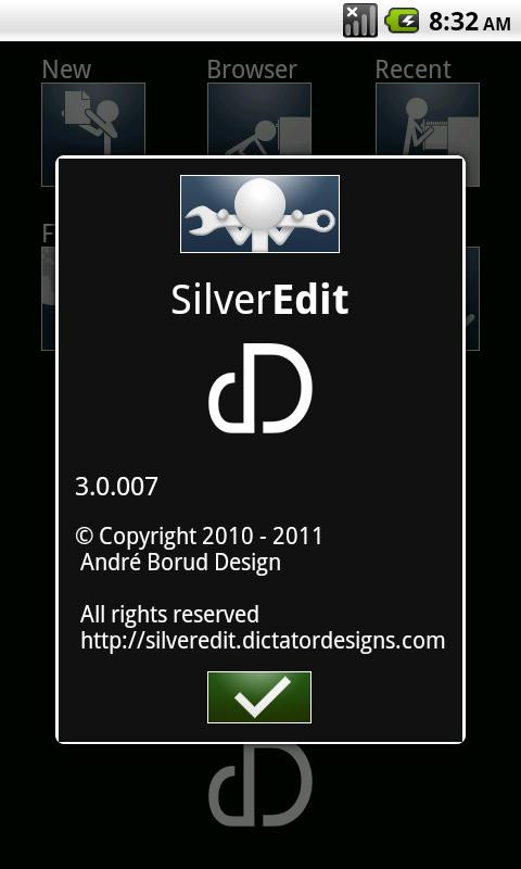 SilverEdit Lite - screenshot
