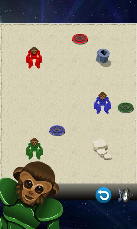 Block Puzzle - Space Monkeys - screenshot