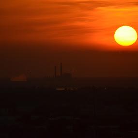 Sunset over Biloxi by Sidney Vowell - Novices Only Landscapes ( biloxi, sunset, beautiful, sundown, beau rivage )