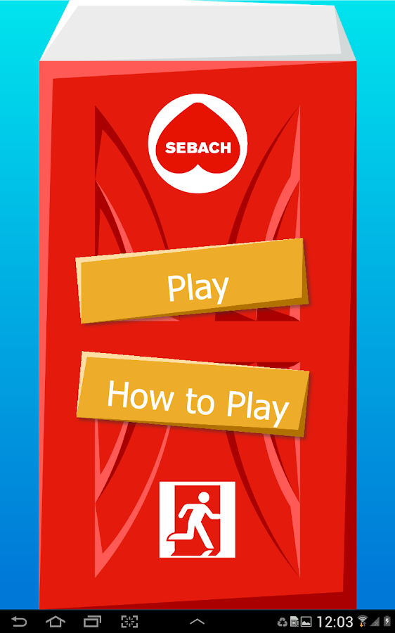 Sebach app- screenshot