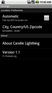 Shabbat & Holiday Times - screenshot thumbnail