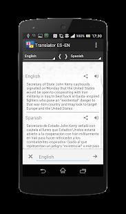 Lastest Spanish-English translator APK