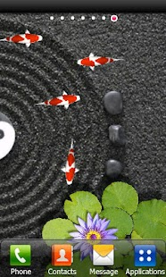Koi Zen Water Garden live FREE - screenshot thumbnail