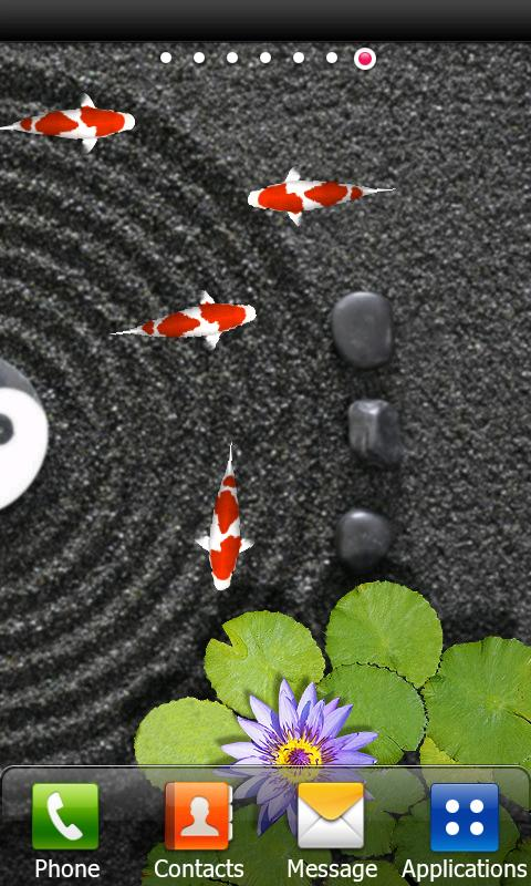 Koi Zen Water Garden live FREE - screenshot