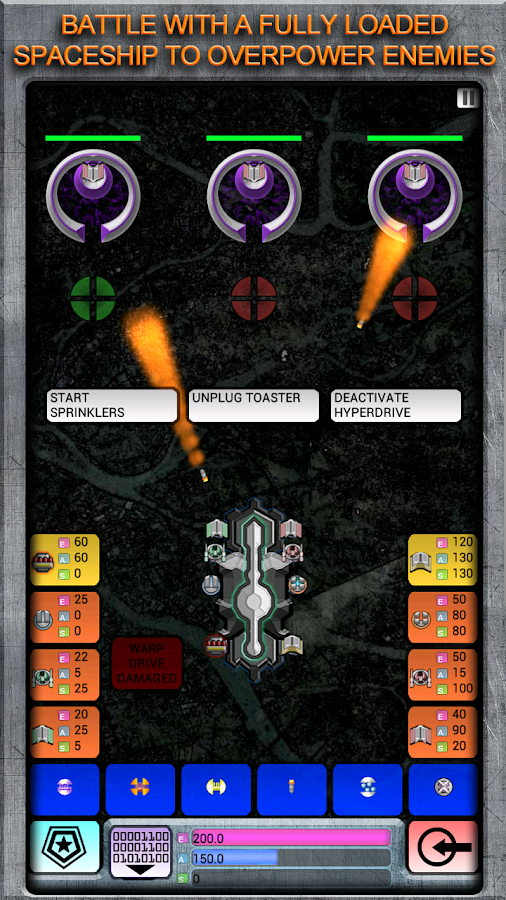 Incognito: Space Strategy- screenshot
