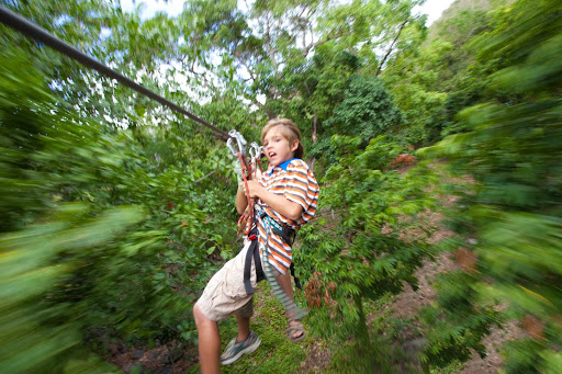 Want an adrenaline rush? Head to Loterie Farm for a zipline adventure on St. Maarten.