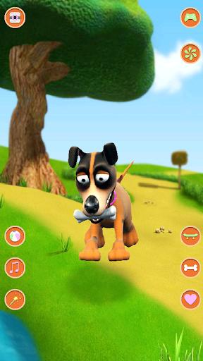 玩免費娛樂APP|下載會說話的狗瘋狂 app不用錢|硬是要APP