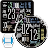 Urban Style Watchface for Wear