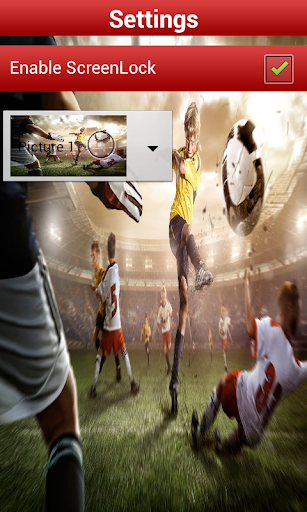 Football Screenlock