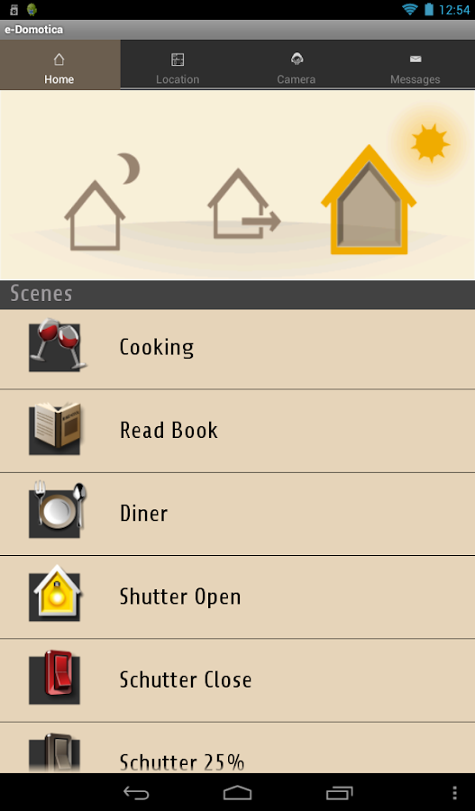 e-Domotica Home Automation- screenshot