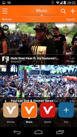 Vodio: Watch Videos, TV & News 1.7.1 screenshot 159722
