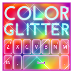 Keyboard Color Glitter Theme 1.0.1 Apk