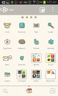 knit man go launcher theme - screenshot thumbnail