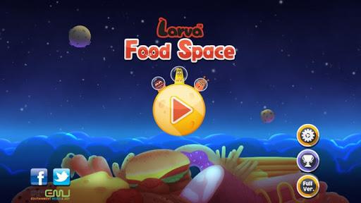 Larva Food Space