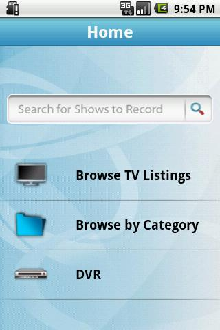 Optimum DVR Manager - screenshot