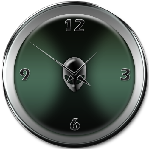 Alienware Analog Clock