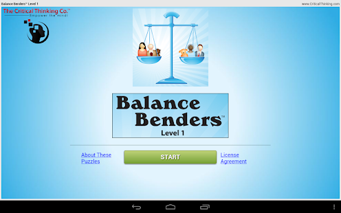Balance Benders™ Level 1- screenshot thumbnail