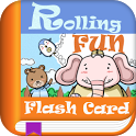 Rolling Fun Flash Card icon
