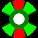 Green Button Timer icon