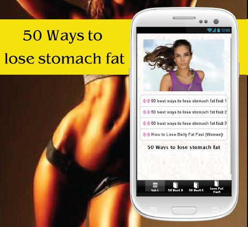 50种失去腹部脂肪