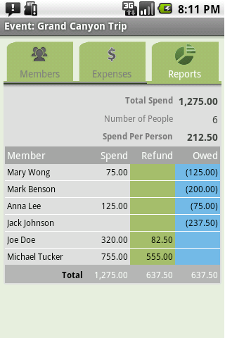 Expense Share + Tip Cal Pro- screenshot
